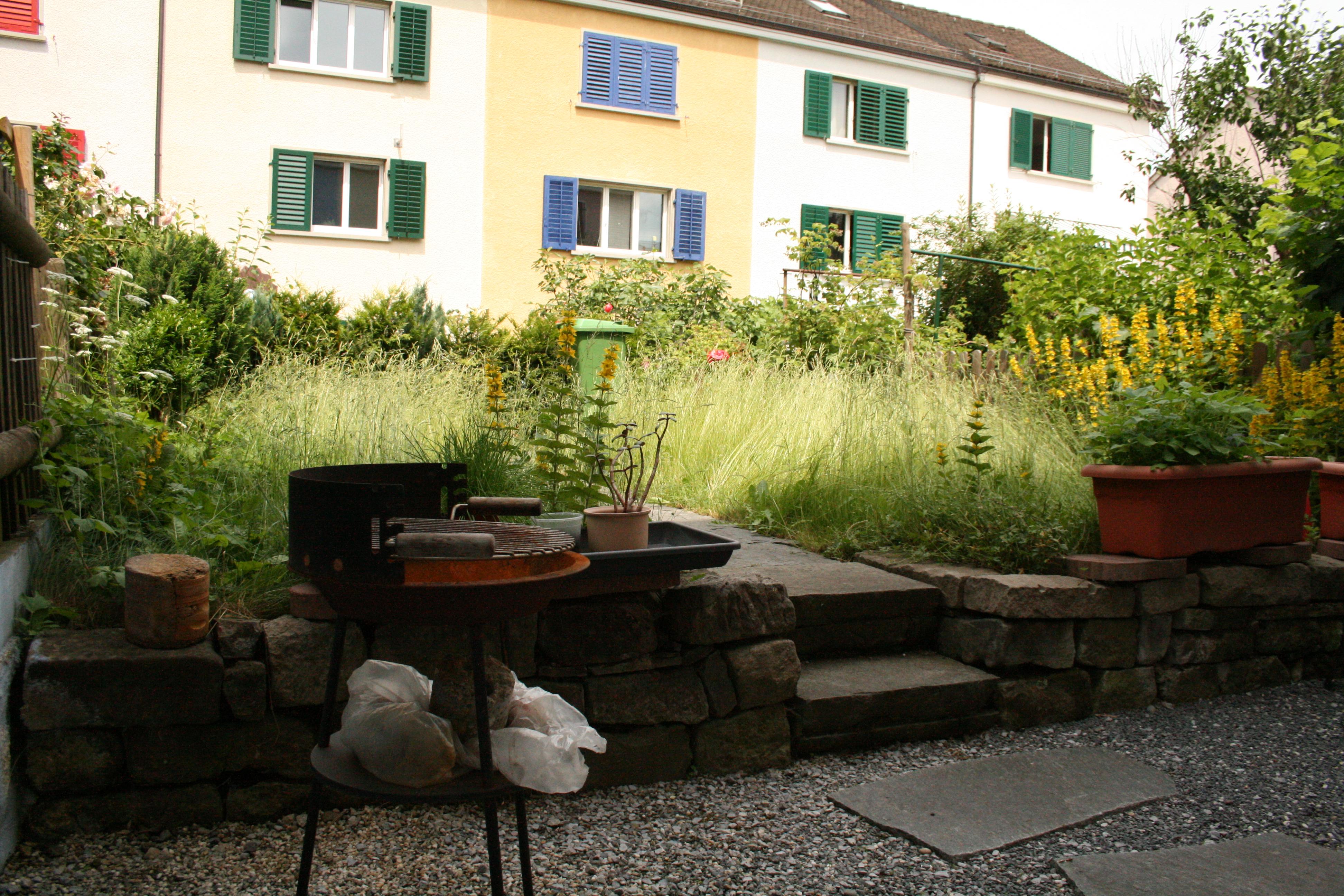Appartement Garten Grillplatz